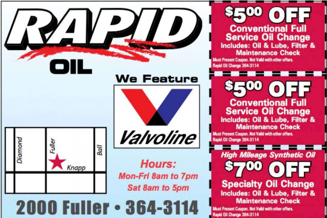 Grand Rapids, MI's Best Oil Change