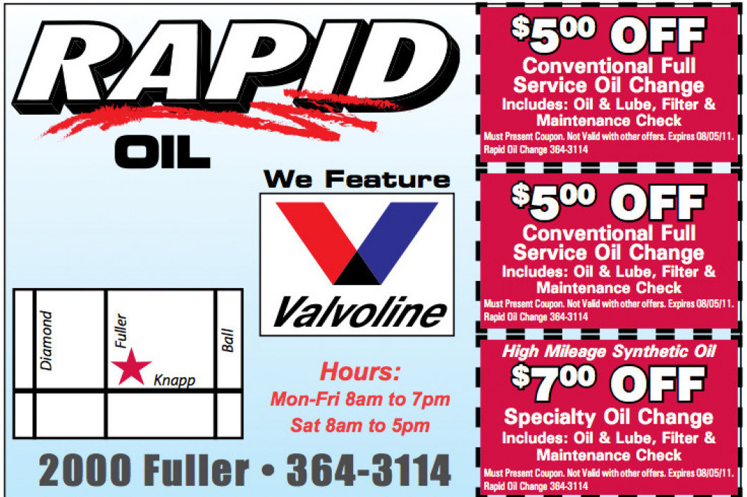 Grand Rapids' Best Oil Change